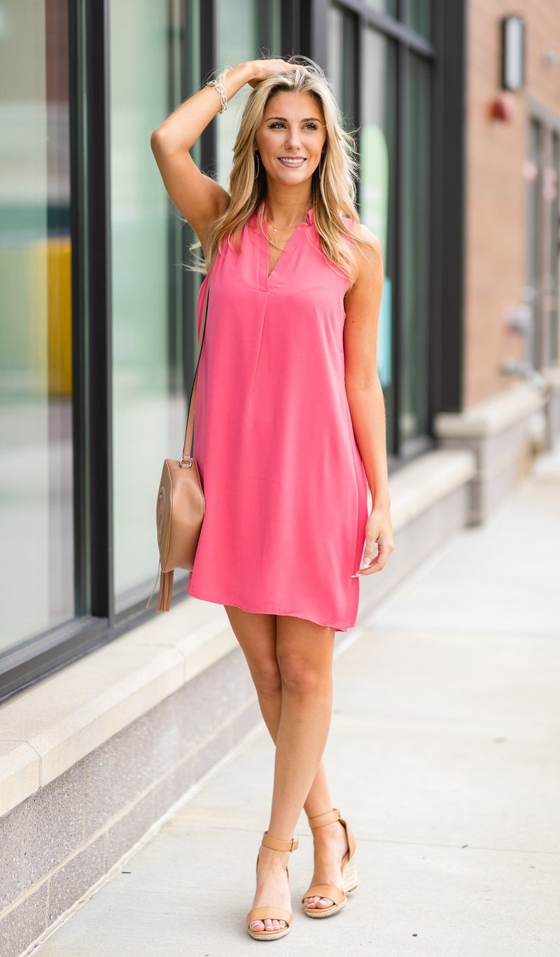 Everywhere With You Dress,  Watermelon