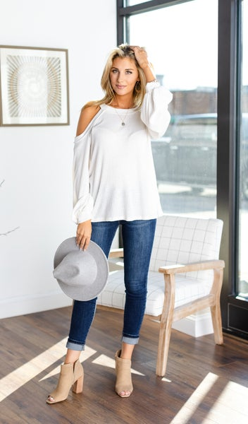 All Good Top, Ivory