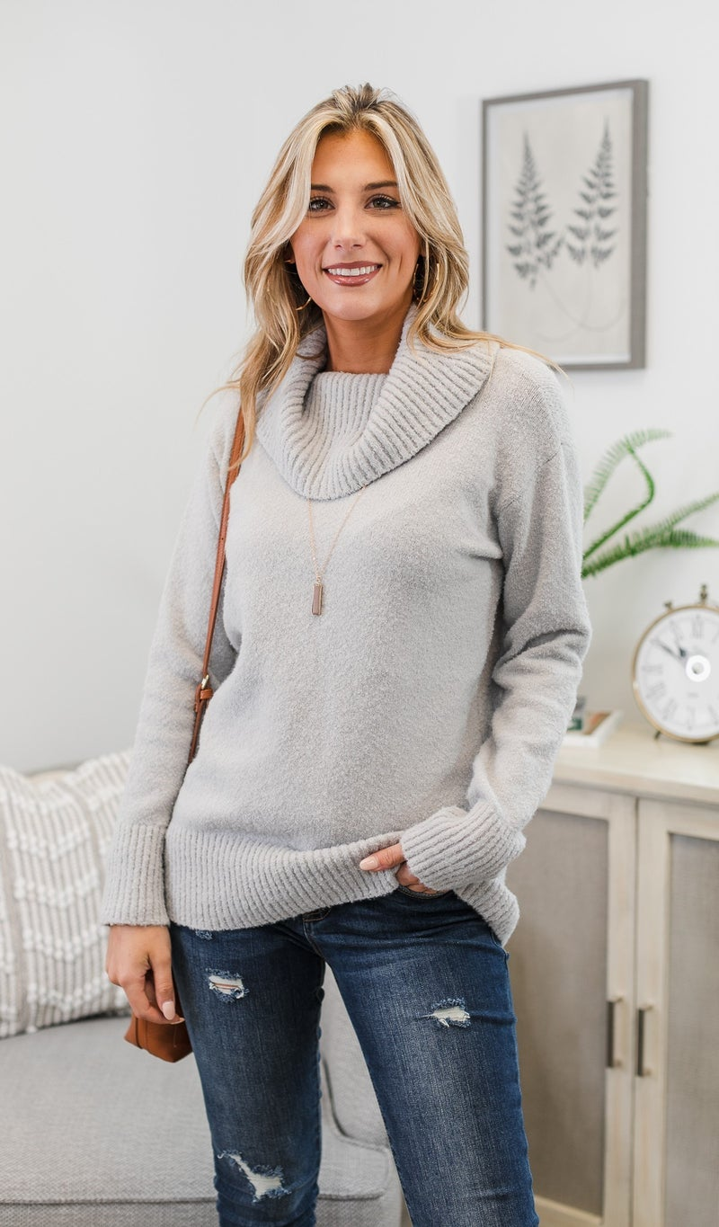 Today and Always Sweater, Grey
