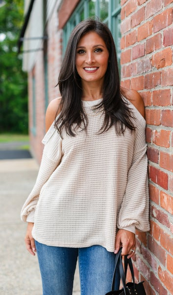 Fields On Love Sweater, Oatmeal