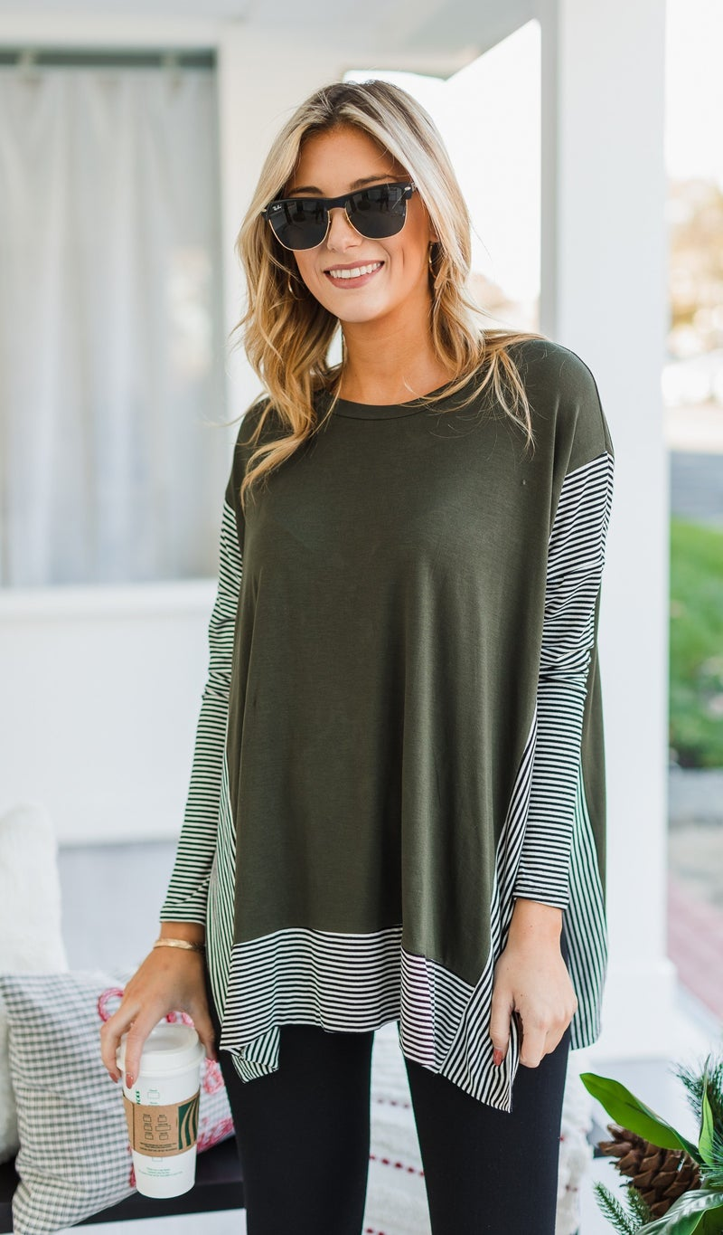 Horizon Tunic, olive