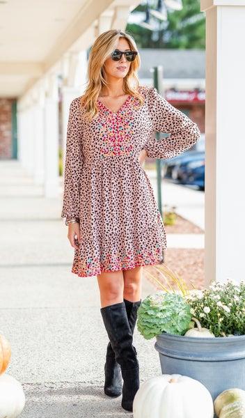 Just So Sweet Dress, Print