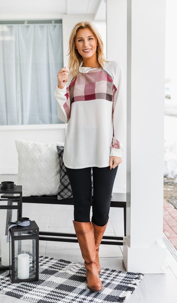 Vail Days Top, Ivory