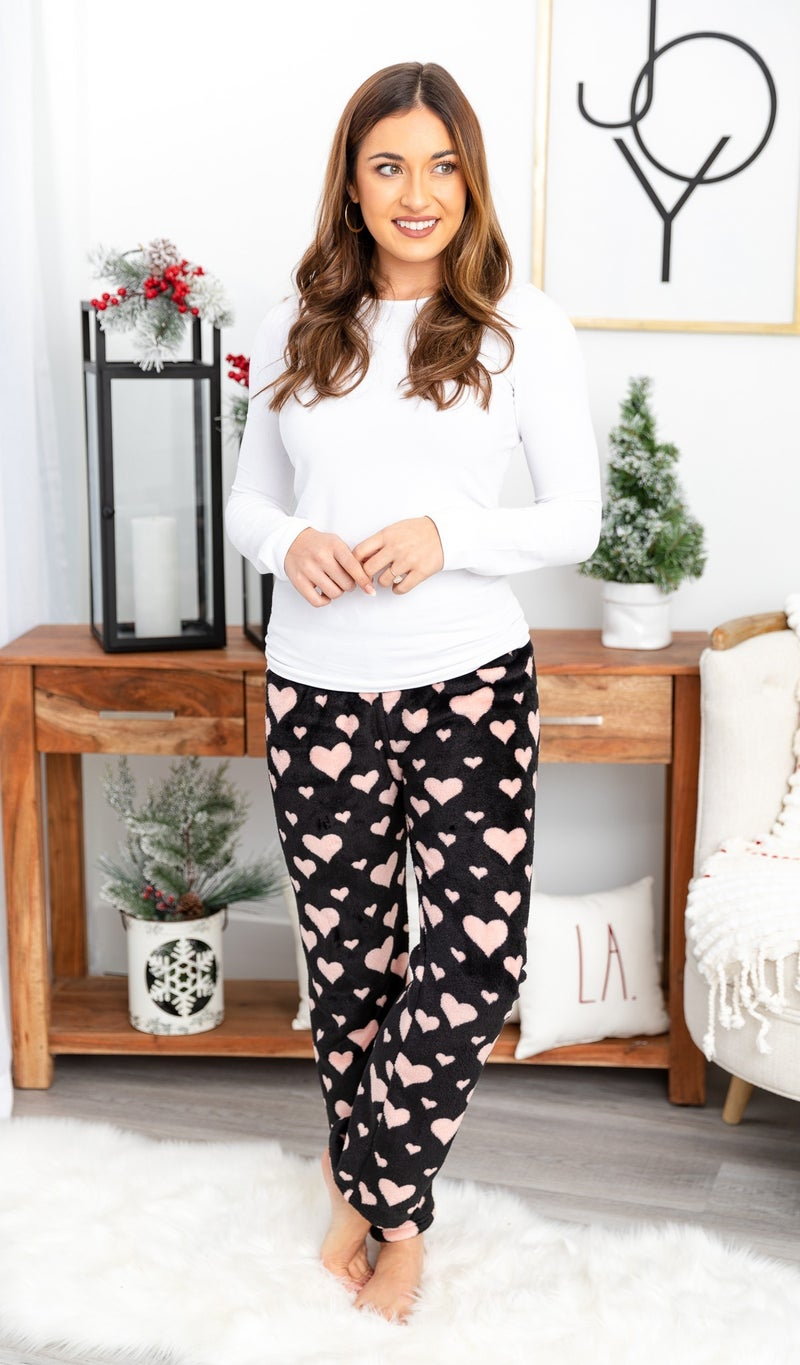 Destiny Soft Lounge Pants, Blue, Pink or Black *Final Sale*