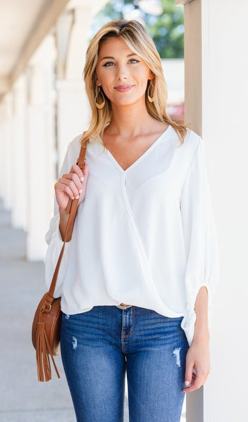 Every Option Top, Ivory