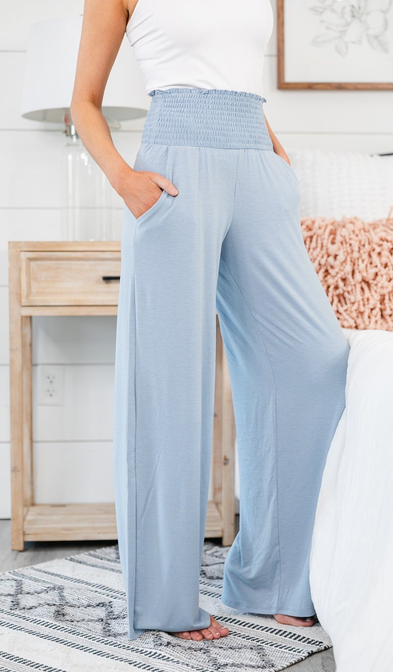 All Summer Long Pant, Sky Blue