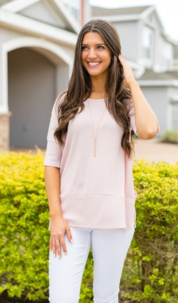 The Alaia Top, Pink