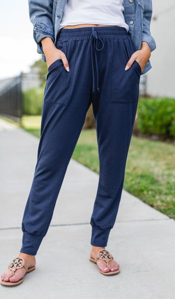 The Vineyard Jogger, Navy