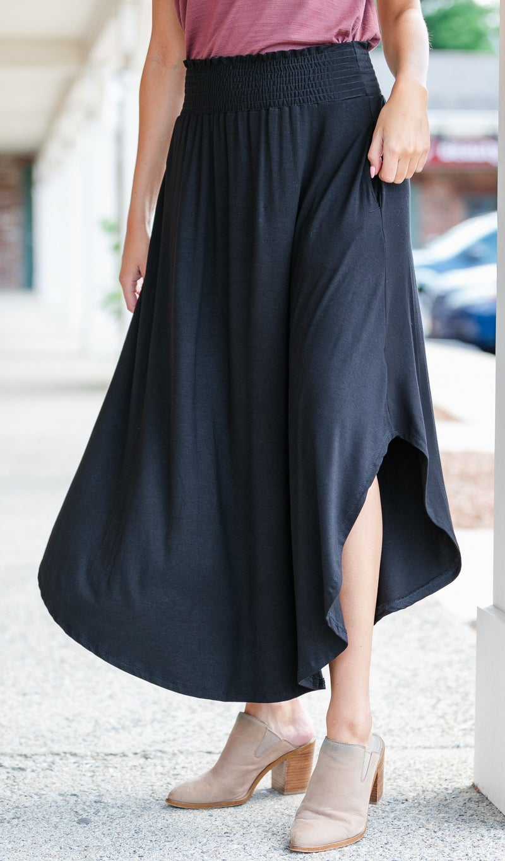 The Ivy Maxi Skirt, Black