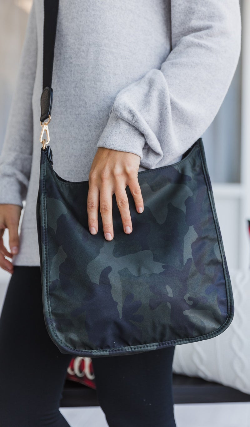 The Best Cross Body Bag, Camo Crossbody