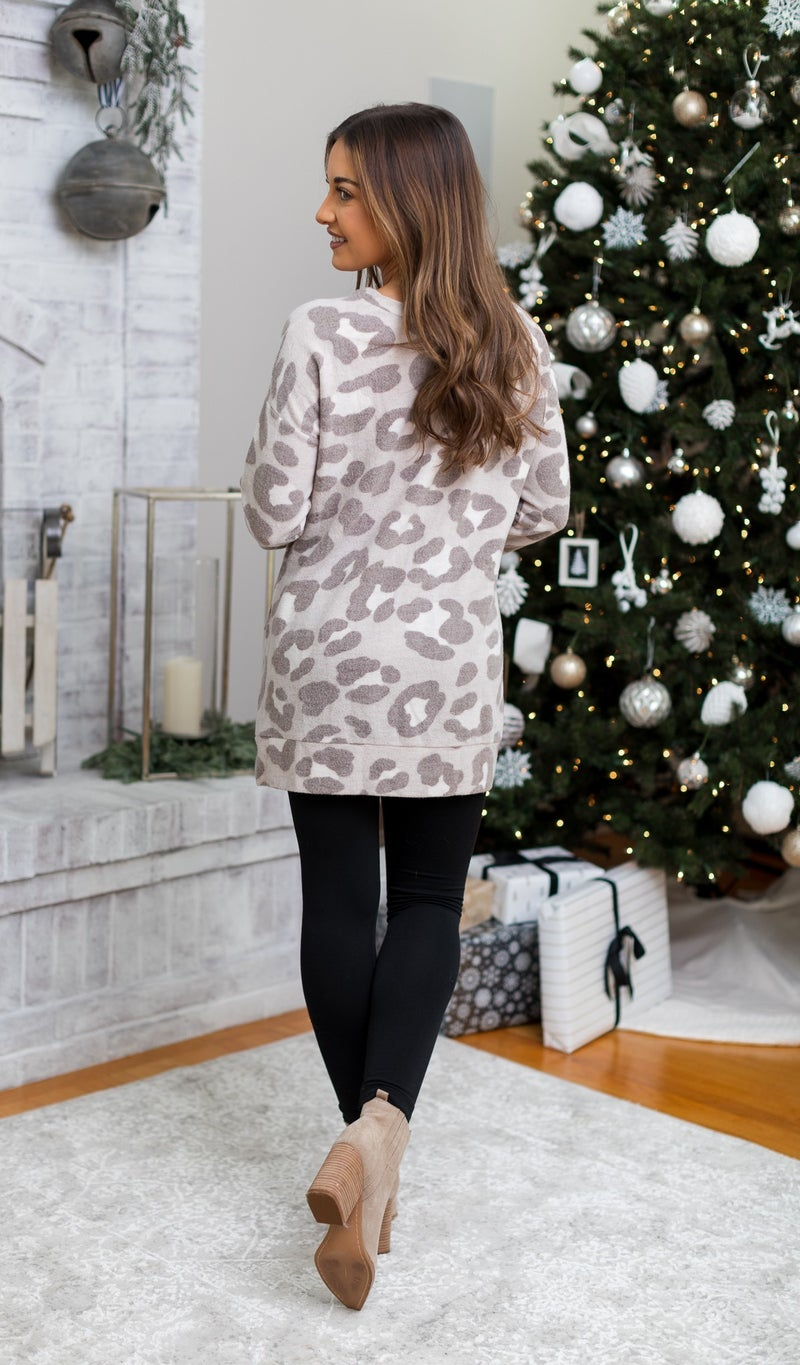 Off Duty Tunic, Leo Print
