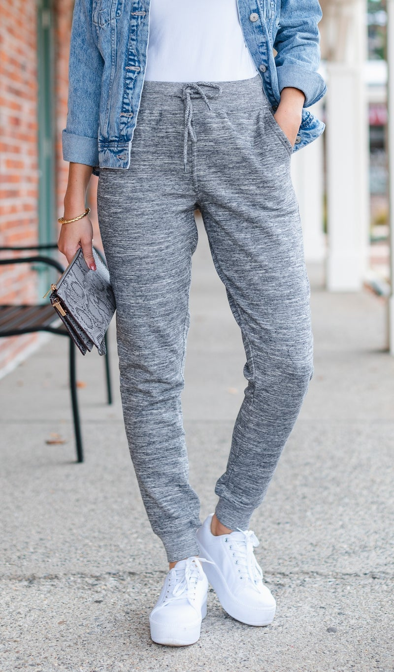 Easy Days Jogger, Grey or Charcoal