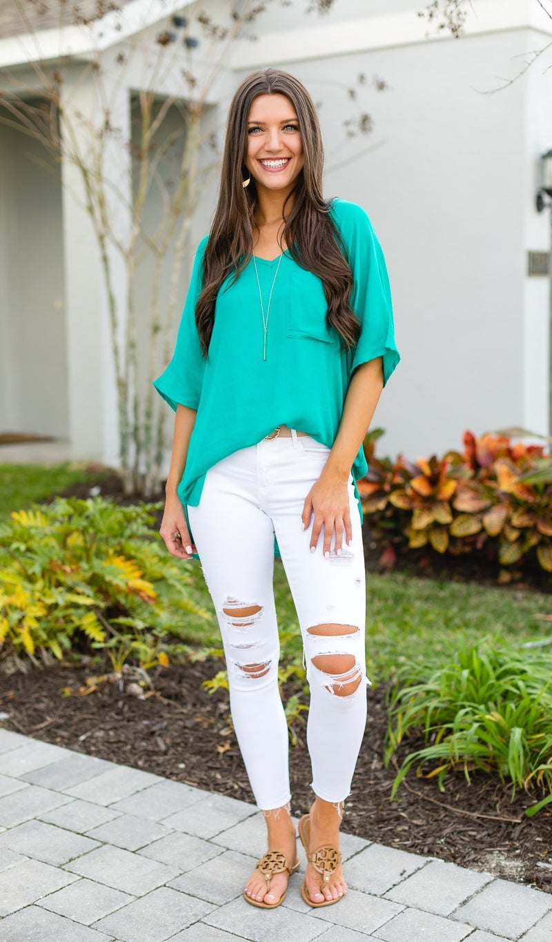Just My Style Top, Jade