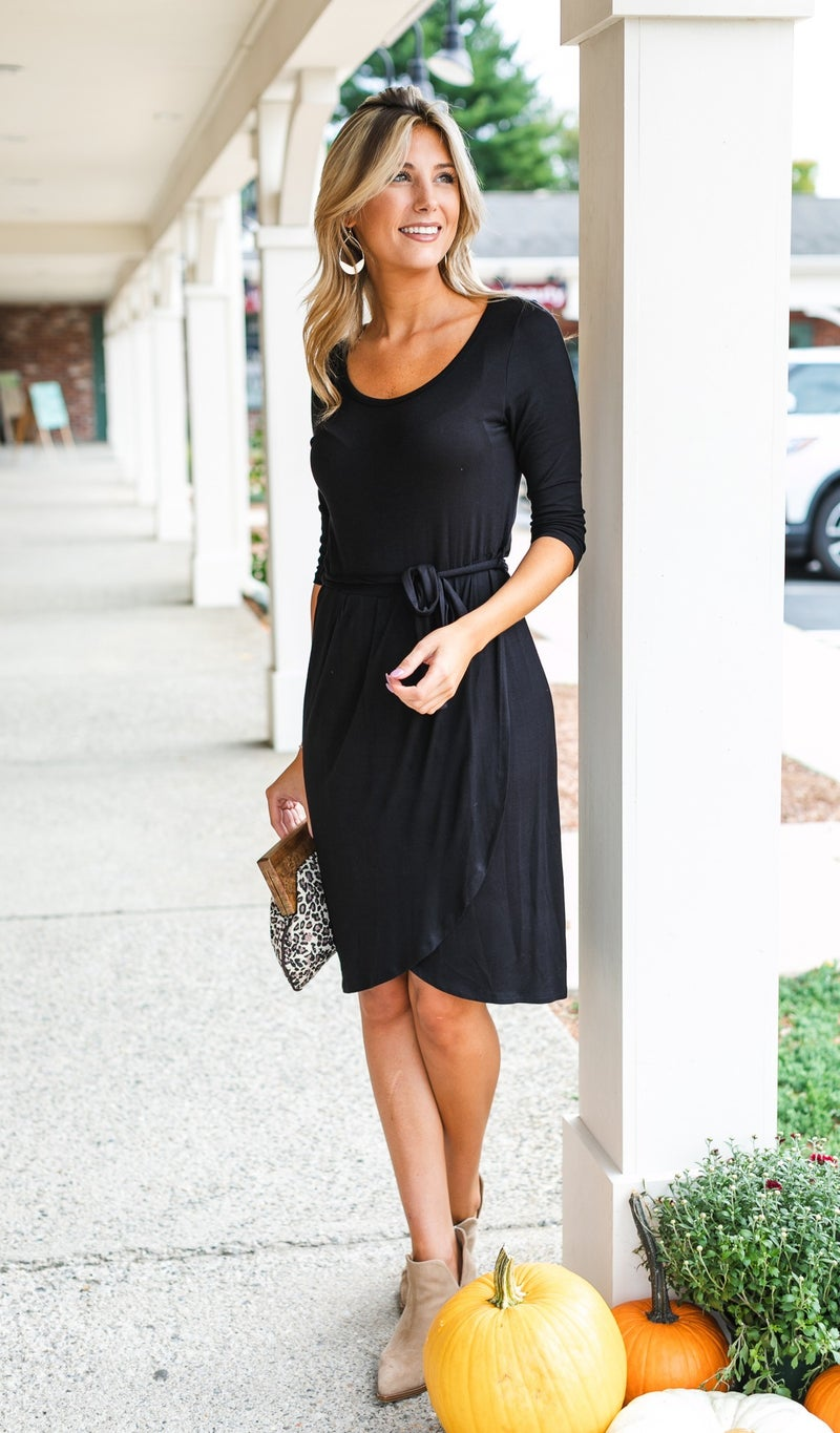 All Or Nothing Dress, Black