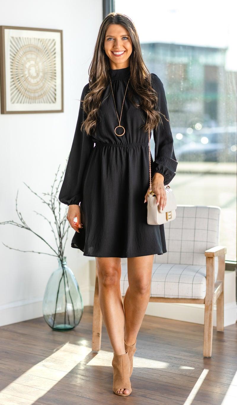 Beautiful Occasion Dress, Black