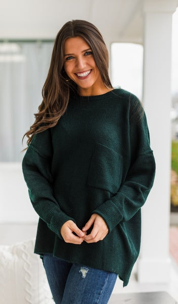 Easy As That Sweater, Hunter Green