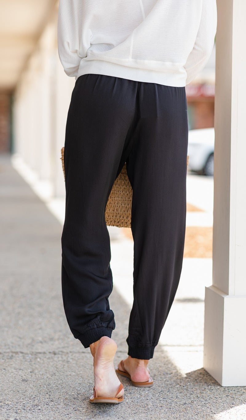 Day To Night Jogger, Black