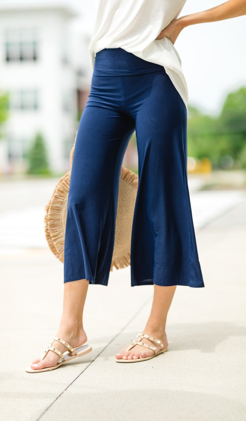 Vacation Pants in Navy