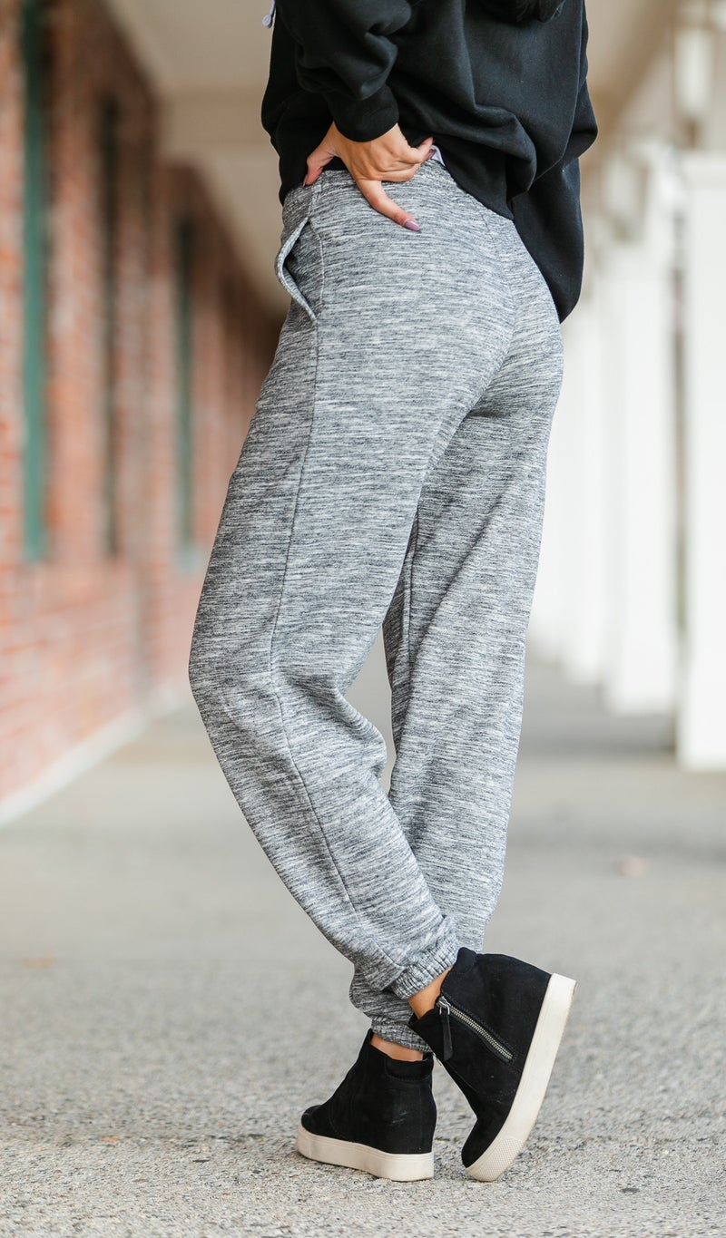90's Style Jogger, Black or Grey