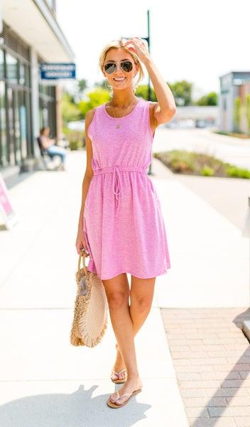 Beach Bliss Dress, Pink