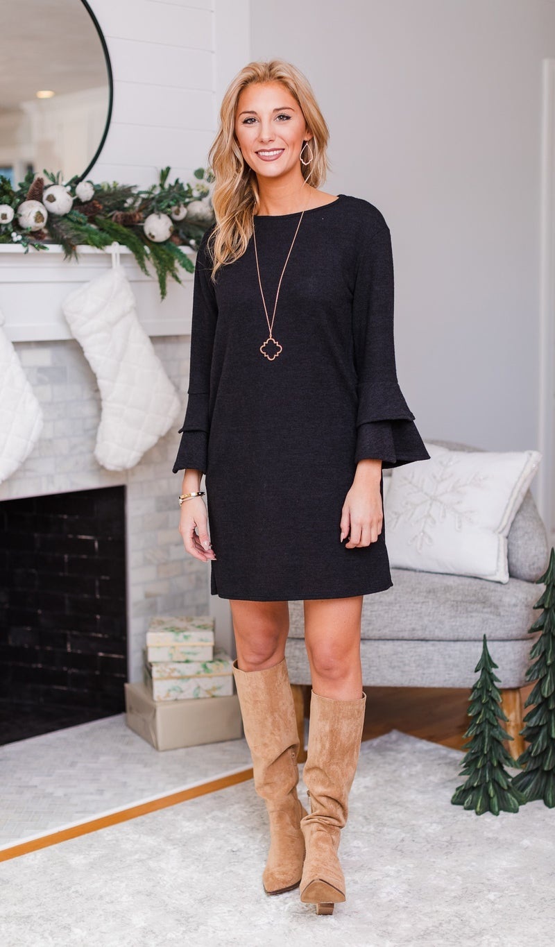 The Everyday Dress, Olive or Black