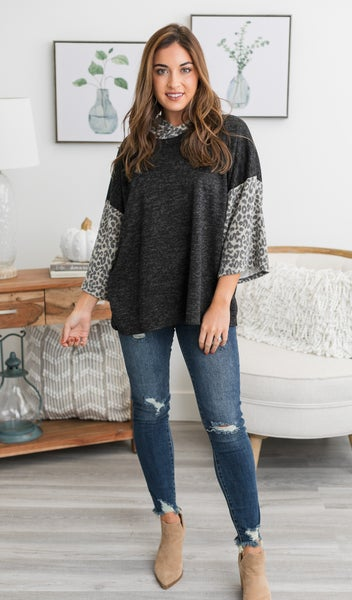 All We Want Top, Charcoal