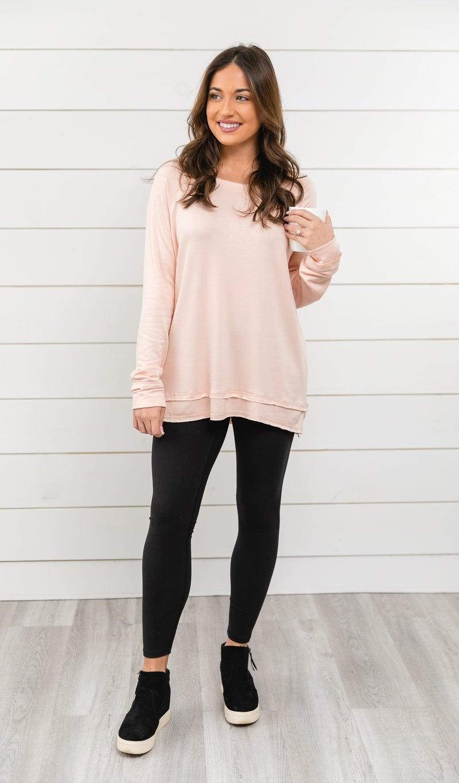 The Gemma Top, Pink