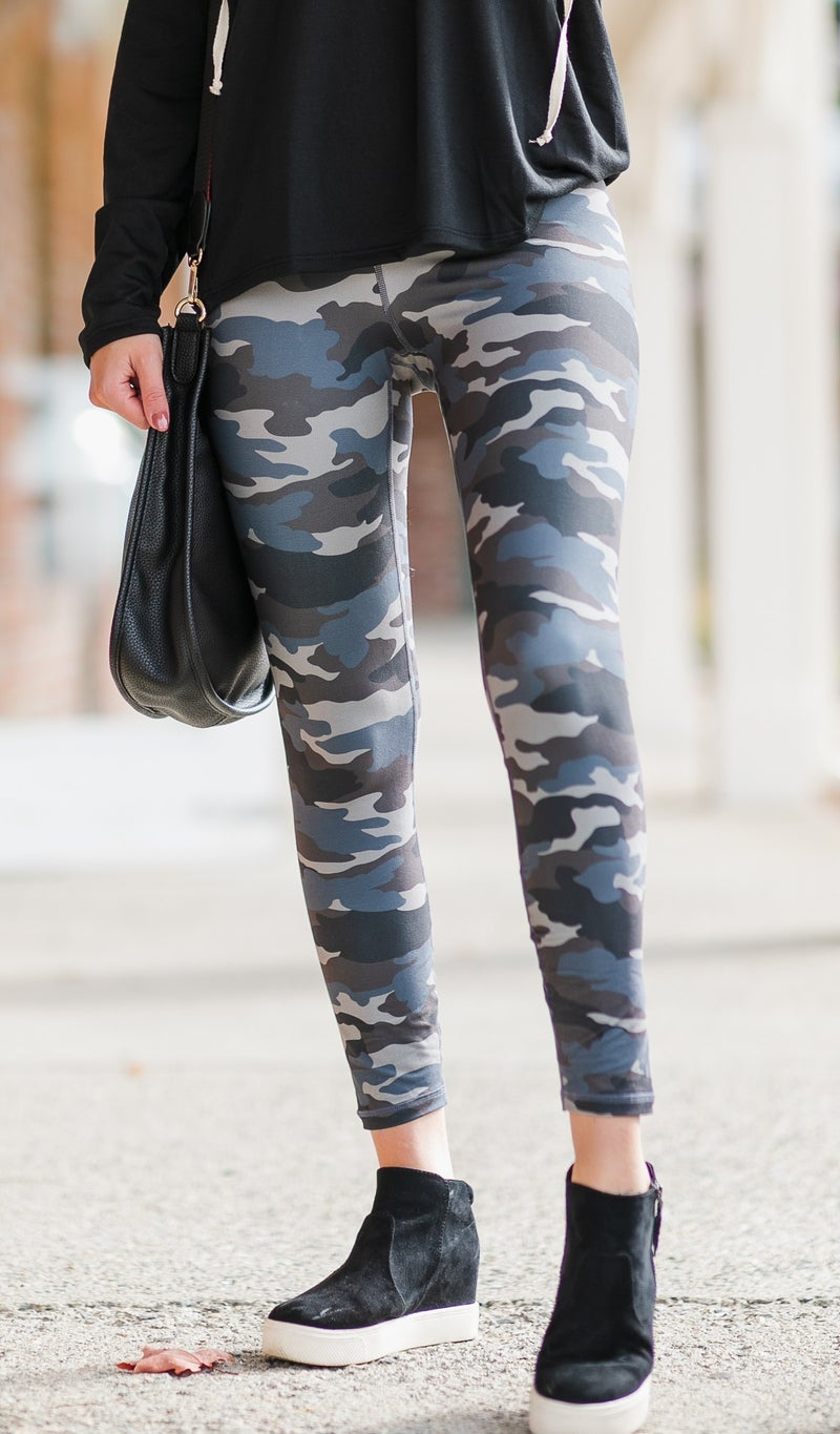 And We're Off Leggings, Camo