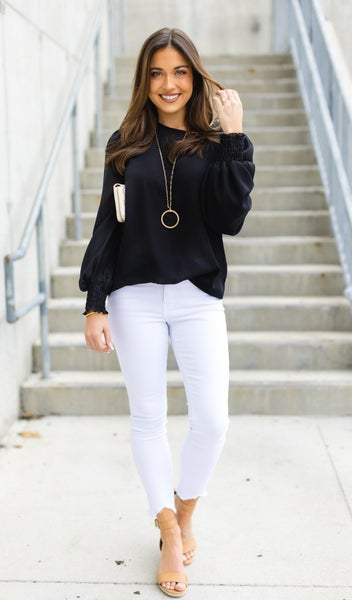 Timeless Blouse, Black