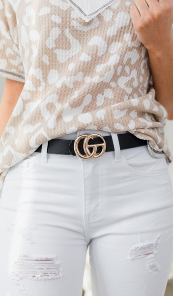 The Classic Belt, Black