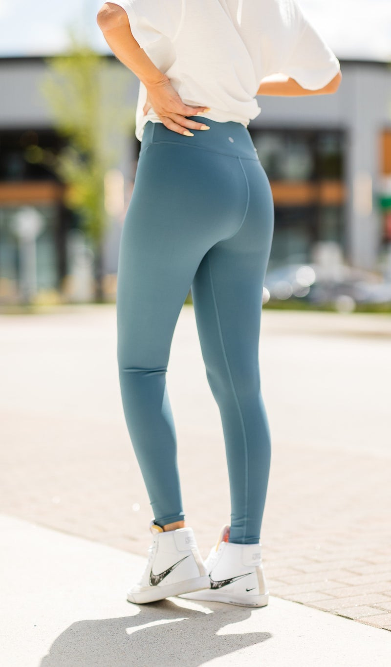 Follow The Trend Legging, Black, Charcoal, Cranberry, or Teal