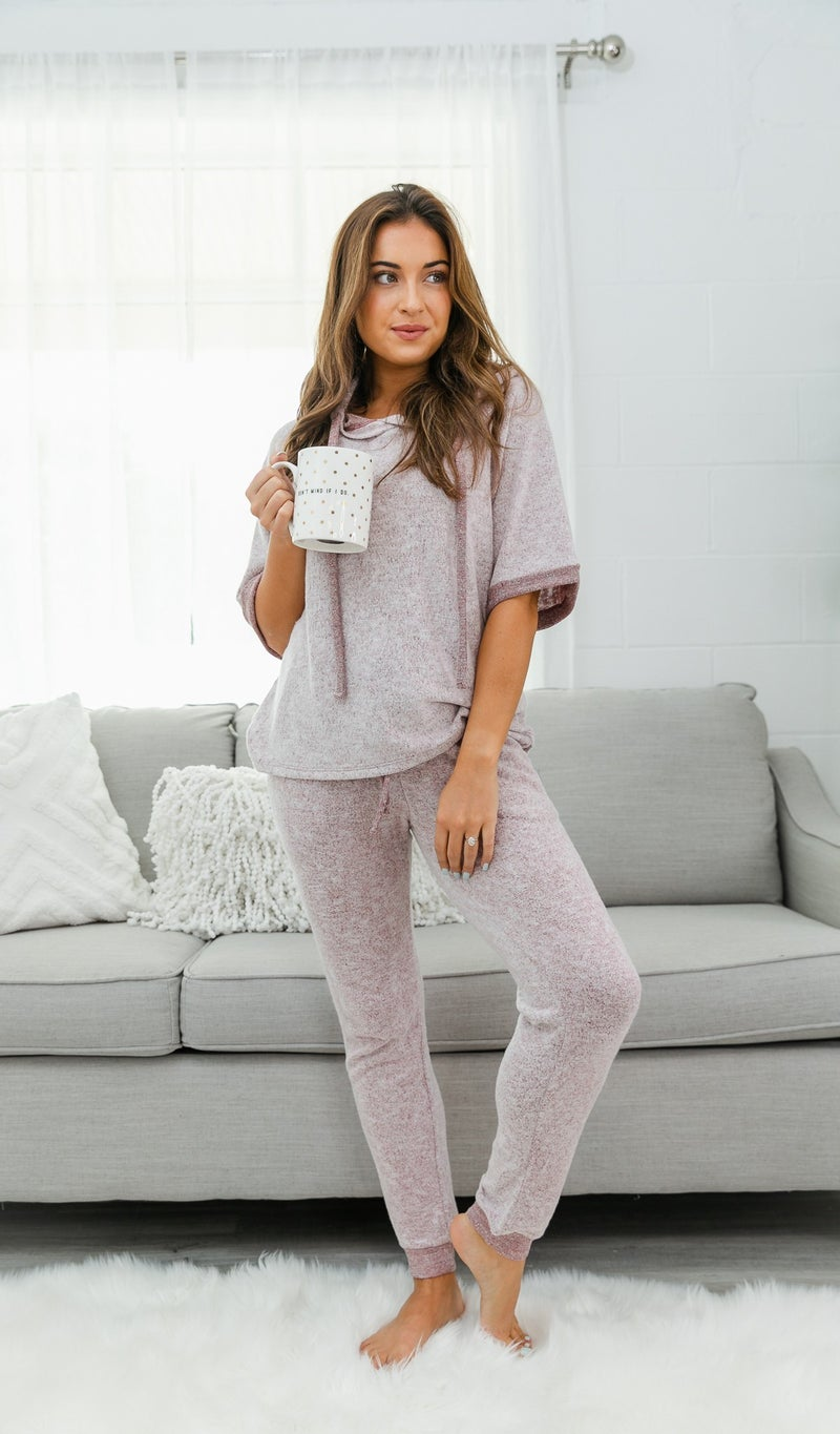 Soft As Can Be Top, Burgundy, Grey or Taupe