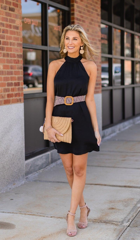 Star Of The Night Dress, Black