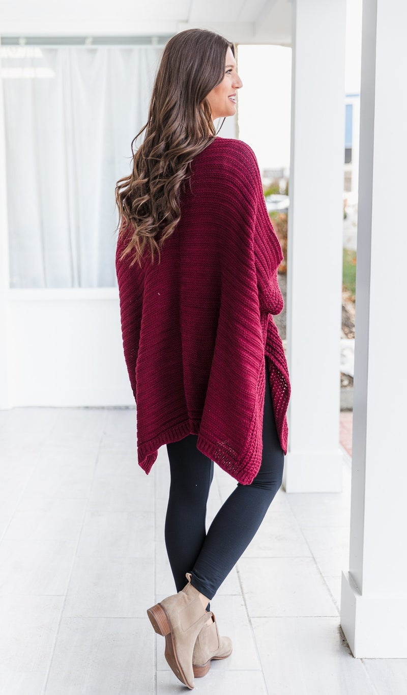 Be With You Knit, Burgundy