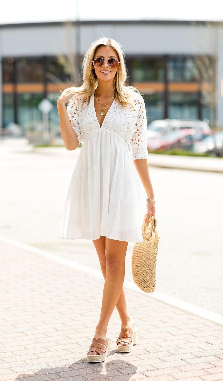 Summer Days Dress, Ivory
