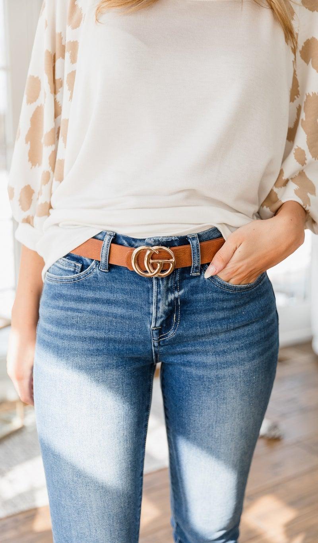The Classic Belt, Cognac