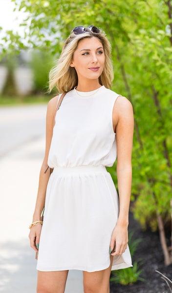 True Beauty Dress, Off White