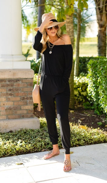 Cali Dreaming Jumpsuit, Black