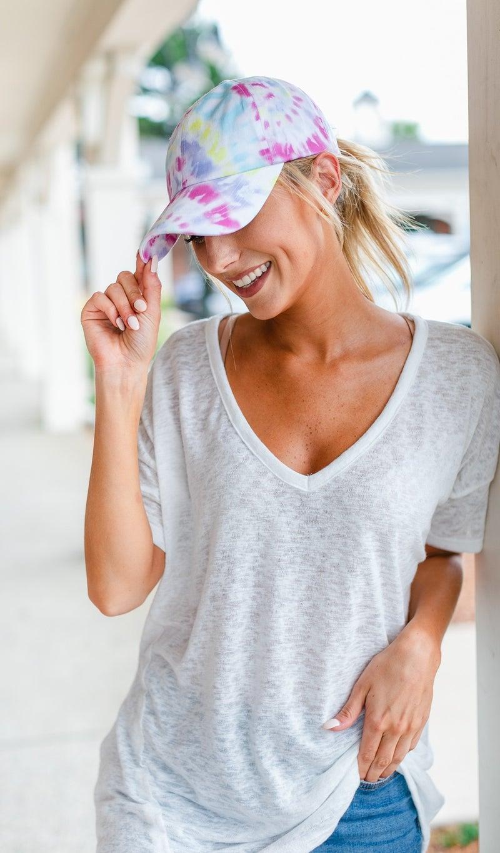 Colors Bliss Hat, Tie Dye