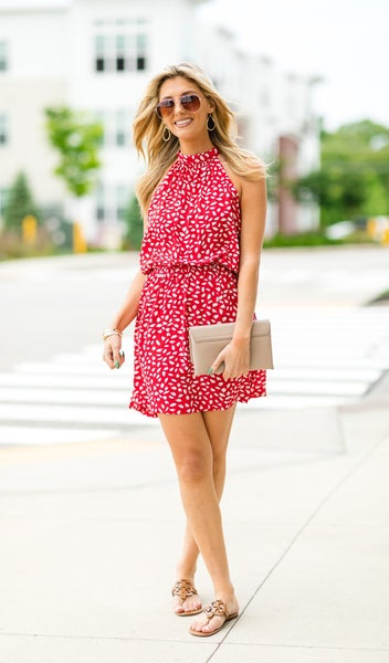 The Kirsty Dress, Red
