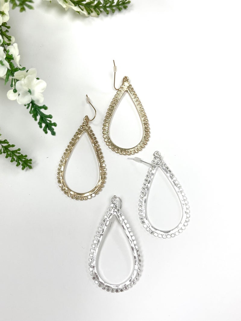 The Avery Earring, Gold or Silver