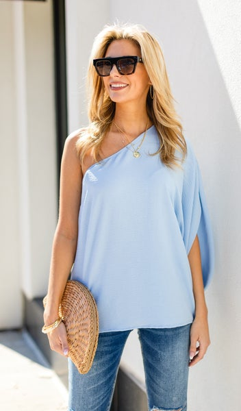 Hopelessly Romantic Top, Periwinkle
