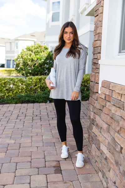 The Bobbie Tunic, Grey