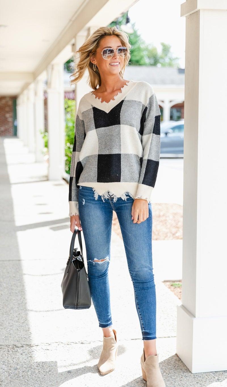 Pumpkin Patch Sweater, Black