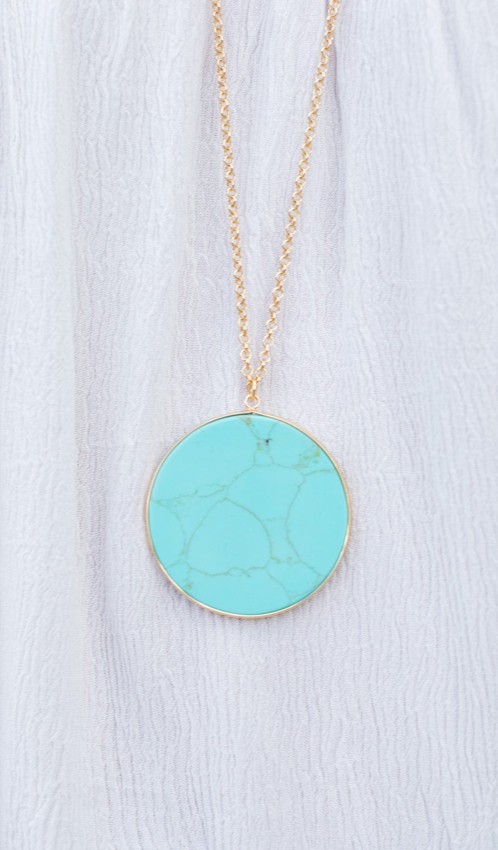 The Sedona Necklace, Turquoise