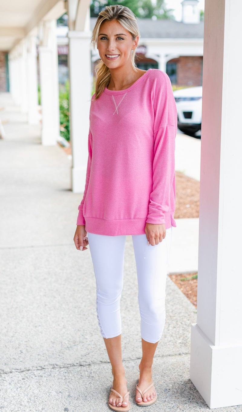 Way out Soft Pullover, Blue, Pink or Black
