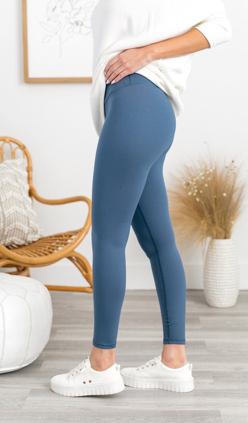 Year Of Ours Active Legging, Blue