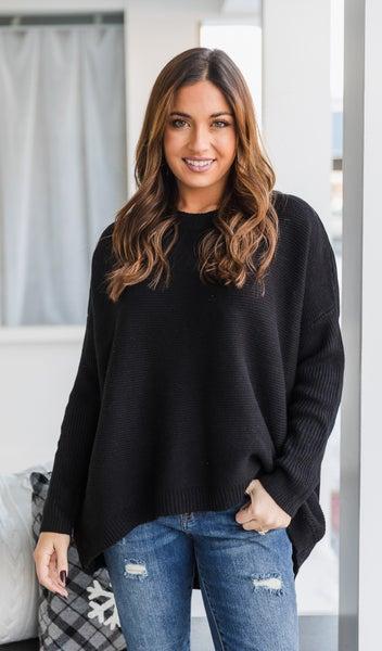 The Erica Sweater, Black