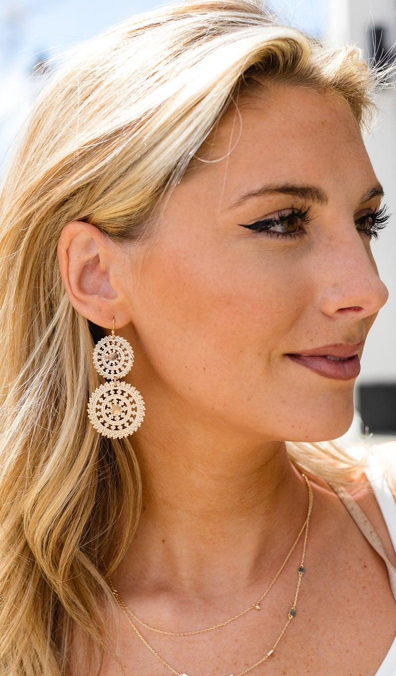 The Perfect Pair Earrings, Gold or Silver