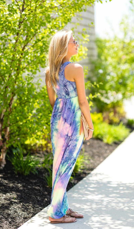 Summer Lovin' Maxi, Tie Dye